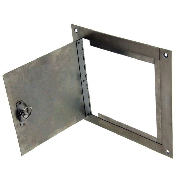 Hearth Products Controls Surface Mount Stainless Steel Access Door, 8x8 Inch