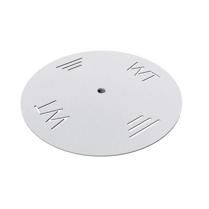 Warming Trends Aluminum Fire Pit Burner Plate, Round
