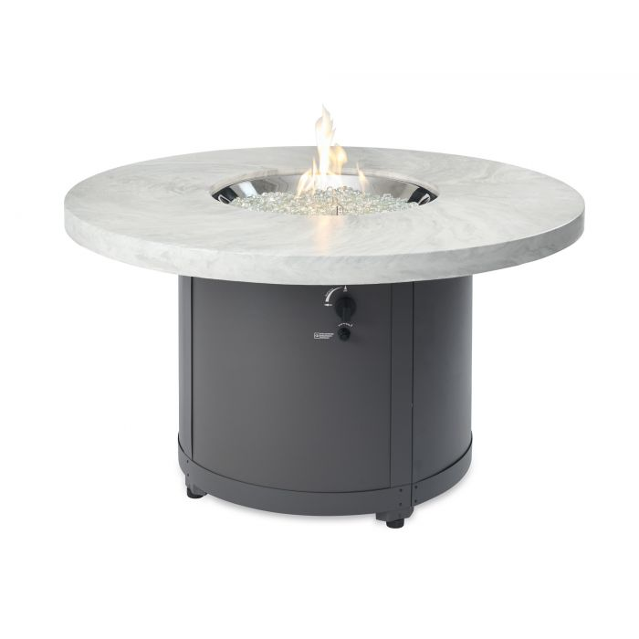 The Outdoor GreatRoom Company Beacon Chat Height Fire Pit Table