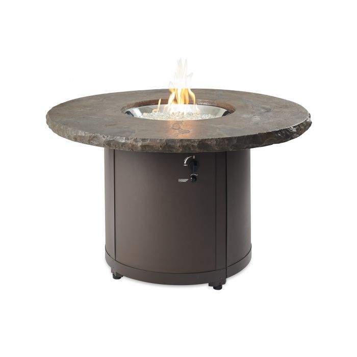 The Outdoor GreatRoom Company Beacon Dining Height Fire Pit Table