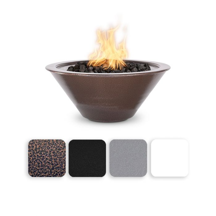 TOP Fires by The Outdoor Plus OPT-RxxPCFO Cazo Powder Coat Fire Bowl