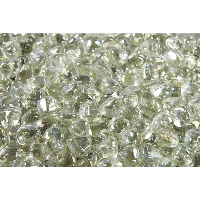 The Outdoor GreatRoom Company CFLD-D 5-Pound Fire Glass Diamonds, Large, Clear Diamond