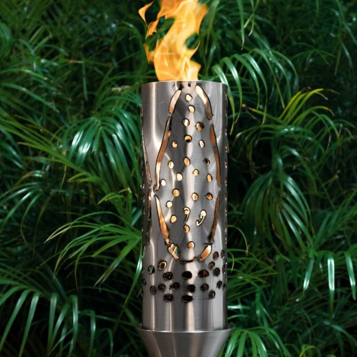 Top Fires by The Outdoor Plus OPT-TCH17xSS Coral Top-Lite Torch
