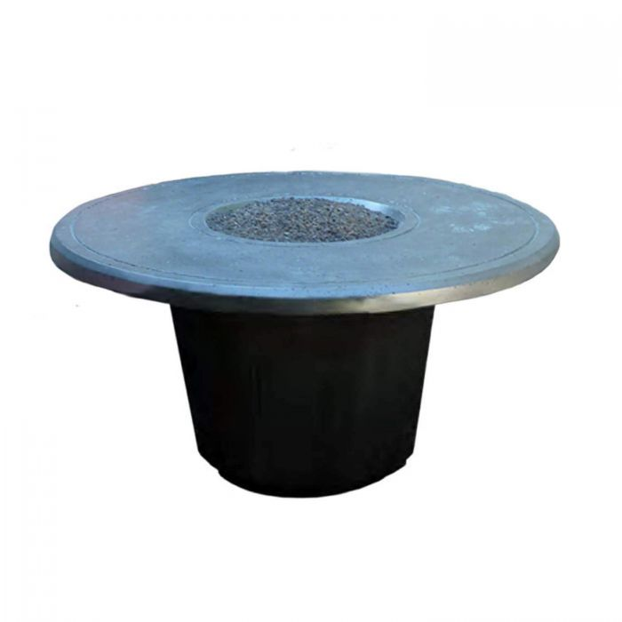 American Fire Designs Cosmopolitan Round Chat Height Firetable