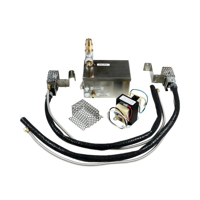 Fire by Design SCG2 Standard Capacity Dual-Pilot AWEIS Electronic Gas Fire Pit Ignition System