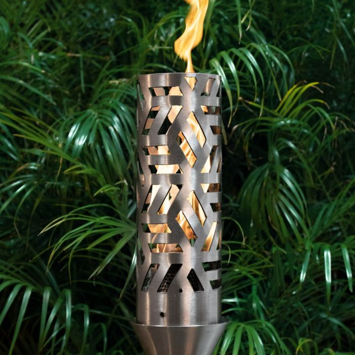 Top Fires by The Outdoor Plus OPT-TCH19xSS Cubist Top-Lite Torch