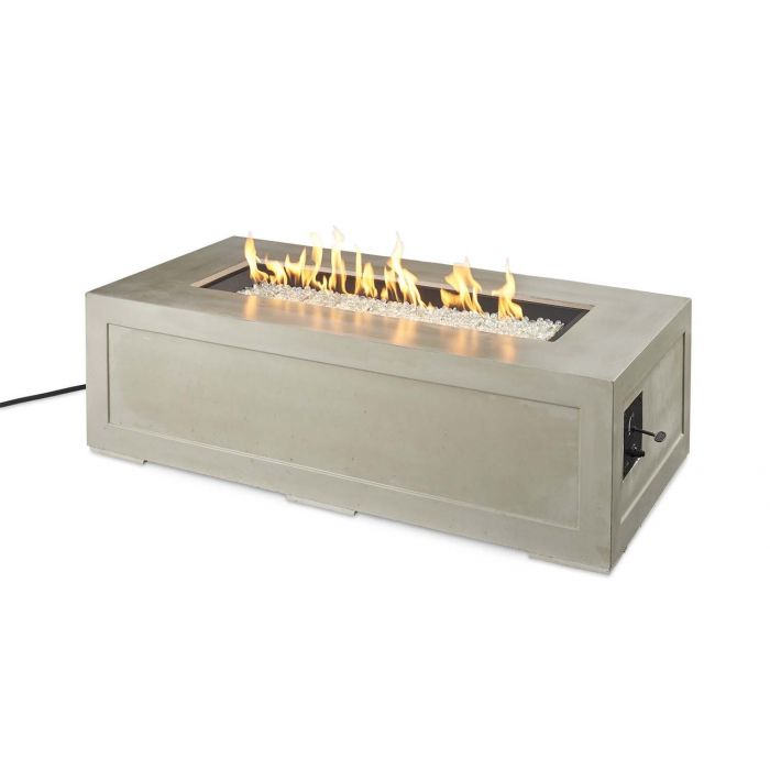 The Outdoor GreatRoom Company CV-1242 Cove Gas Fire Pit, 60x30-Inch