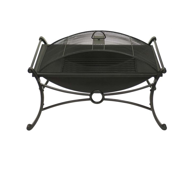 Dagan DG-FP-1016 Rectangular Wood Burning Fire Pit