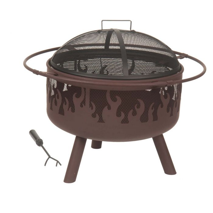 Dagan DG-FPF-1000 Flame Style Wood Burning Fire Pit
