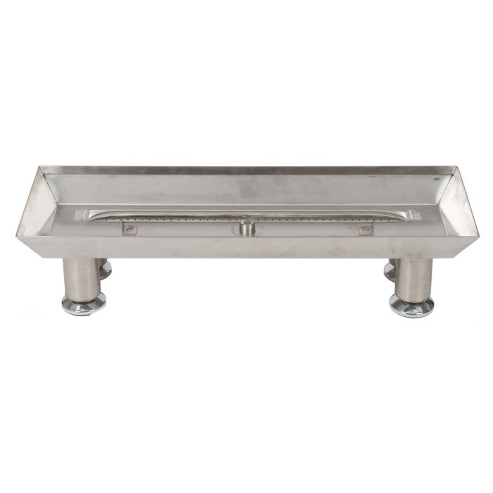 Dagan DG-LBPS Stainless Steel Burner Pan with Straight Burner