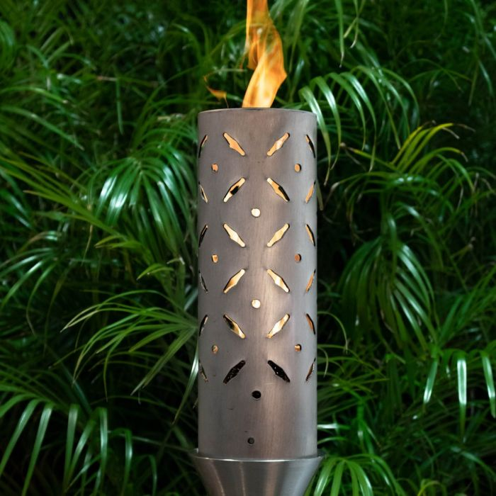Top Fires by The Outdoor Plus OPT-TT18x Diamond Plate Top Torch