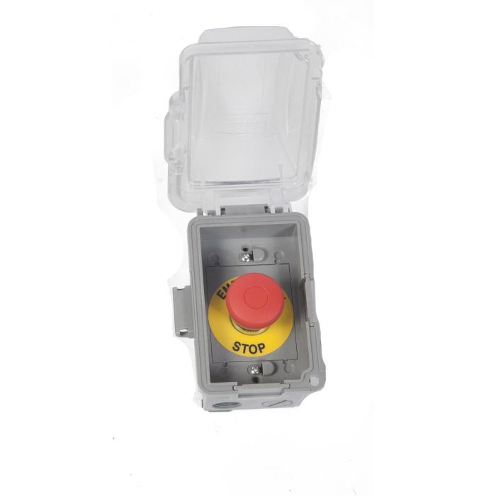 Fire by Design EMER Emergency Shutoff with Exterior Grade Single Gang Box and Bubble Cover