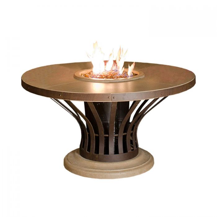 American Fire Designs Fiesta Dining Height Firetable
