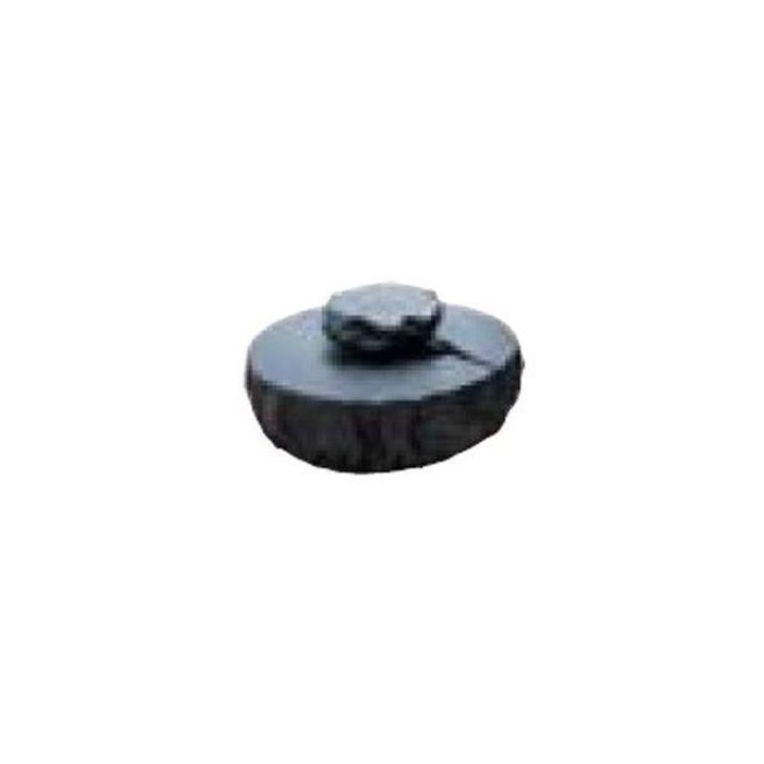 Hearth Products Controls Round Black Vinyl Fire Pit Cover for Evolution 360 Basin