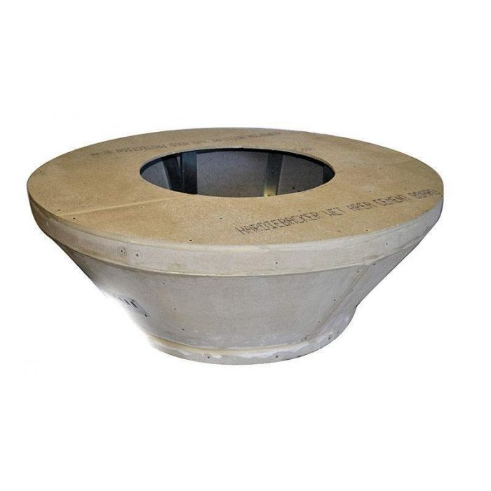 Hearth Products Controls Round 54 Inch Tapered Unfinished Fire Pit Enclosures