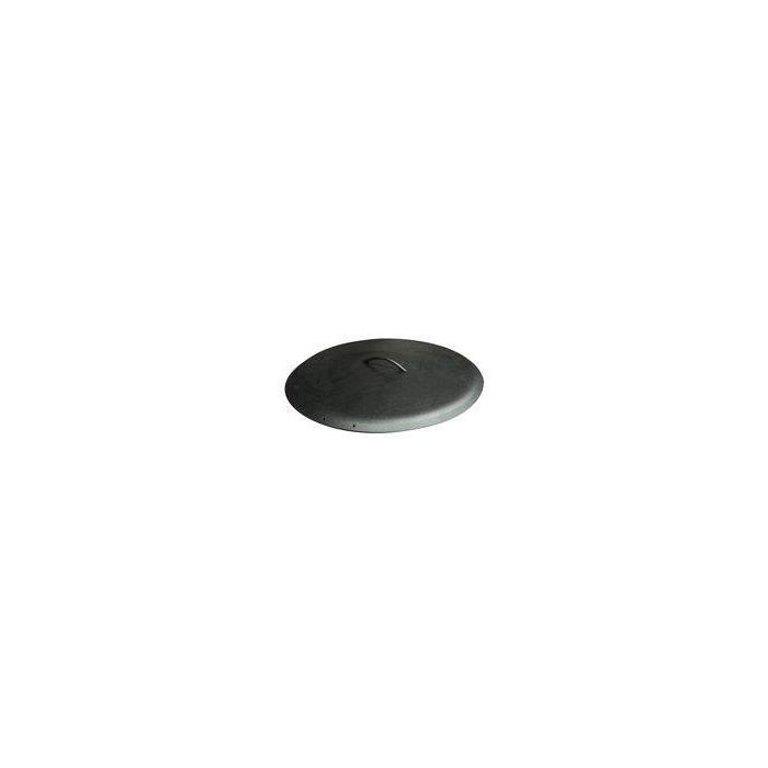 Hearth Products Controls Round Aluminum Fire Pit Cover, 24 Inch, Black
