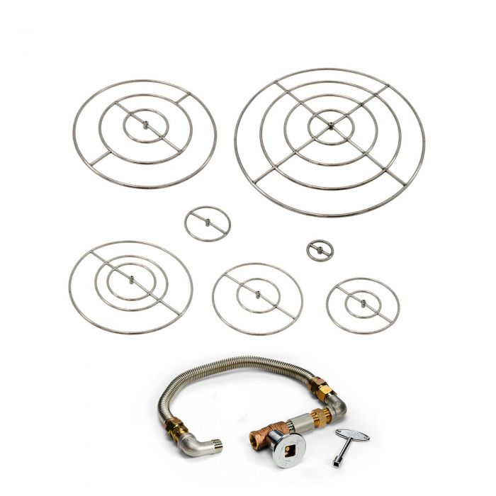 Hearth Products Controls FPS Match Light Gas Fire Pit Kit