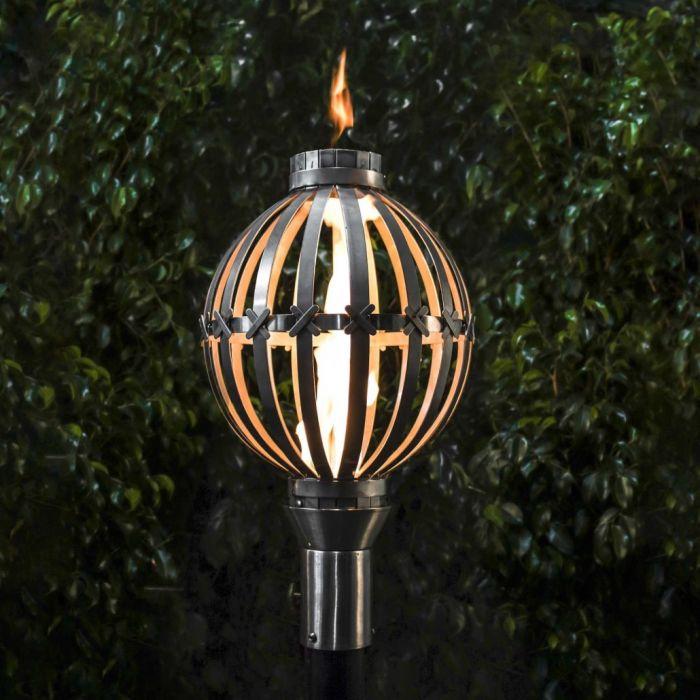 Top Fires by The Outdoor Plus OPT-TT2x Globe Top Torch