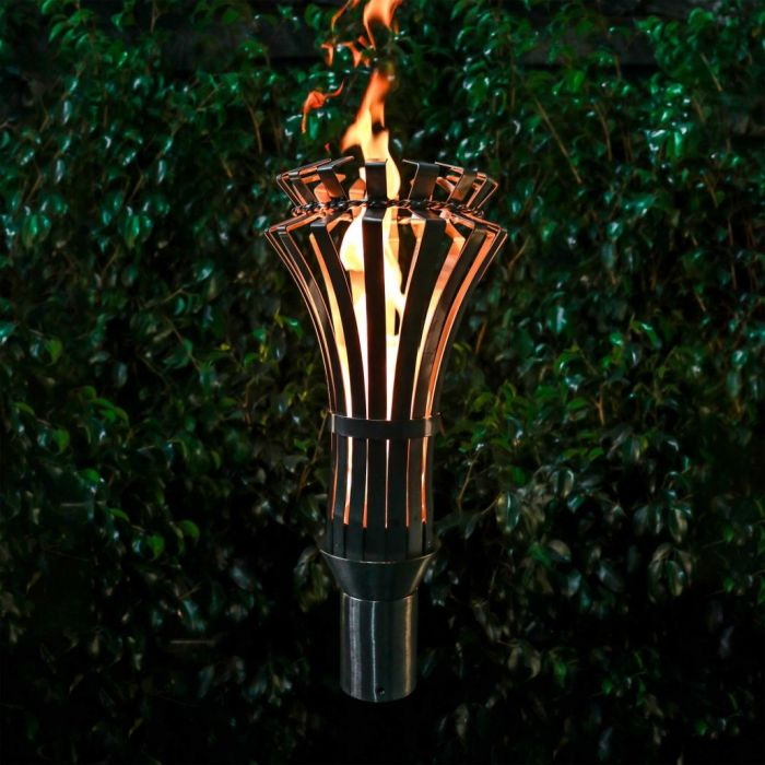 Top Fires by The Outdoor Plus OPT-TCH13xSS Gothic Top-Lite Torch