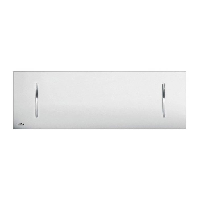 Napoleon Fireplace Cover in Brushed Stainless Steel