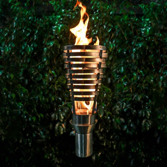 Top Fires by The Outdoor Plus OPT-TCH6xSS Hercules Top-Lite Torch