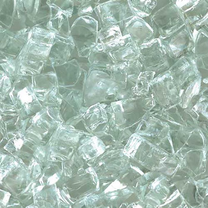 Hearth Products Controls 1/4 Inch Decorative Fire Glass, 10 Pounds, Clear