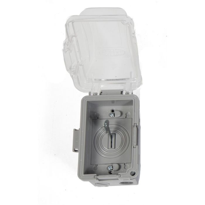 Fire by Design KEYSW Keyed Switch with Exterior Grade Single Gang Box and Bubble Cover