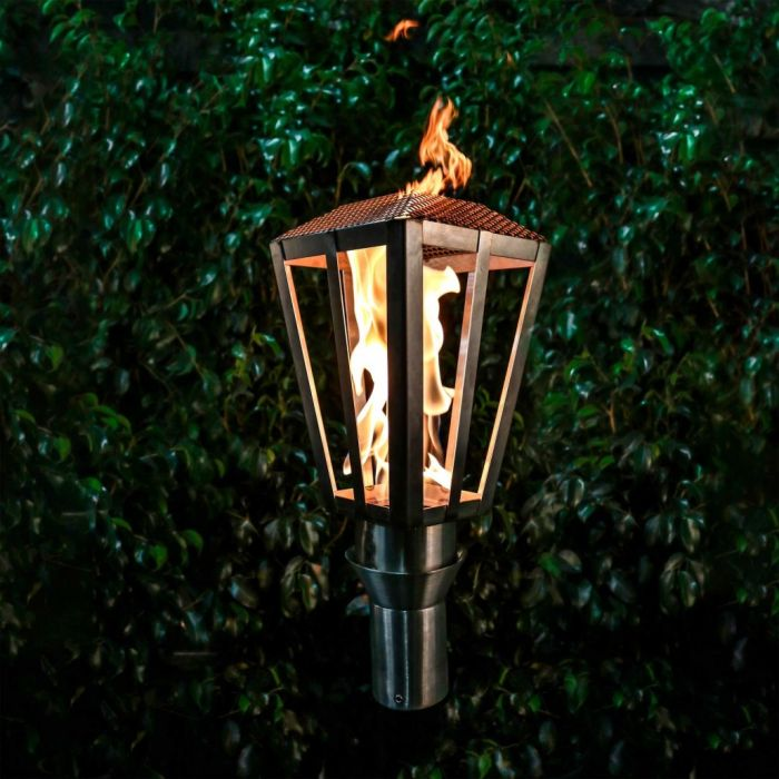 Top Fires by The Outdoor Plus OPT-TCH7xSS Lantern Top-Lite Torch