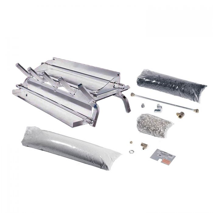 Rasmussen LC-SS Stainless Steel Evening Series Multi-Burner and Grate Kit