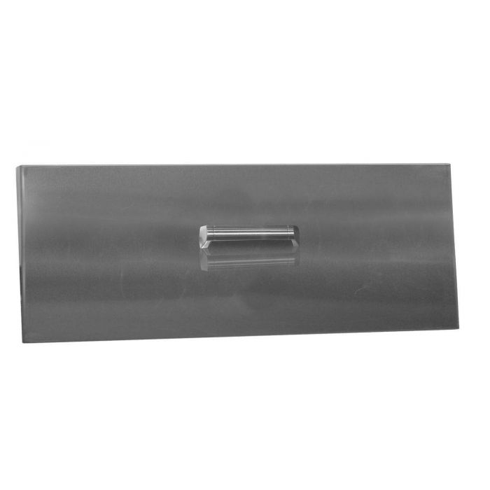 Firegear LID-LOF36LH Stainless Steel Burner Cover with Brushed Finish, Linear, 38.75x14.75-Inch