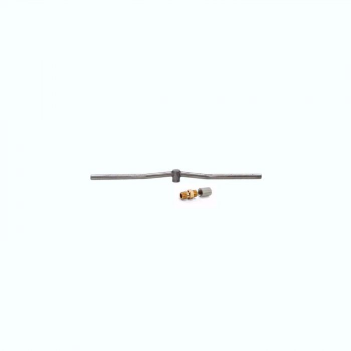 Hearth Products Controls Linear Stainless Steel Fire Pit Interlink Burner, 24-Inch, Propane