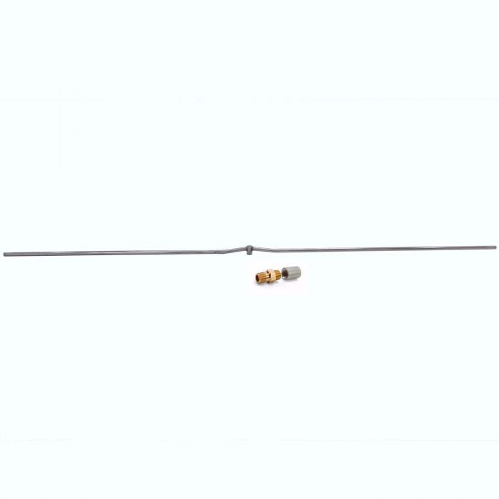Hearth Products Controls Linear Stainless Steel Fire Pit Interlink Burner, 120-Inch, Propane