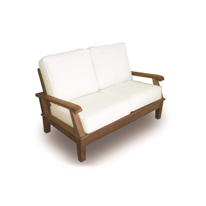Royal Teak Collection MIA2 Miami Teak Love-Seat
