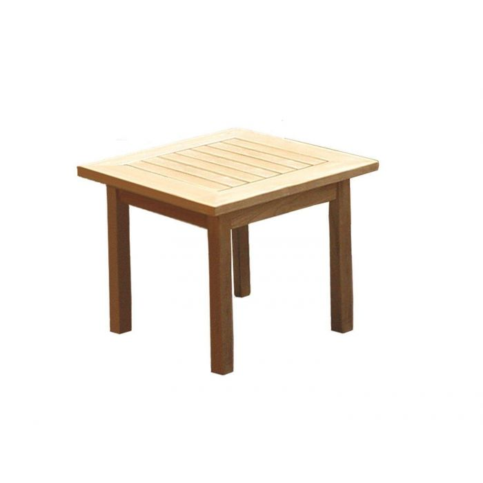 Royal Teak Collection MIAST Miami Square Teak Side Table
