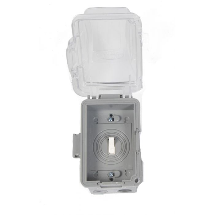 Fire by Design ONSW On/Off Switch with Exterior Grade Single Gang Box and Bubble Cover