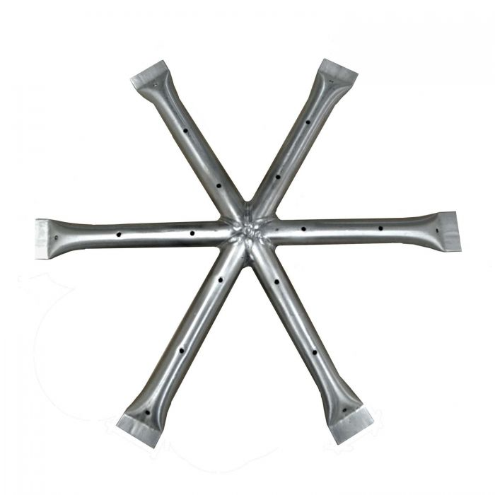 The Outdoor Plus OPT-17x-STAR Stainless Steel Star Gas Fire Pit Burner