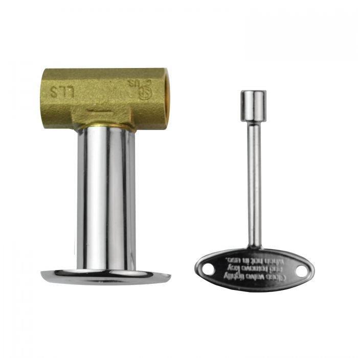 The Outdoor Plus OPT-256 1/2-Inch Brass Key Valve