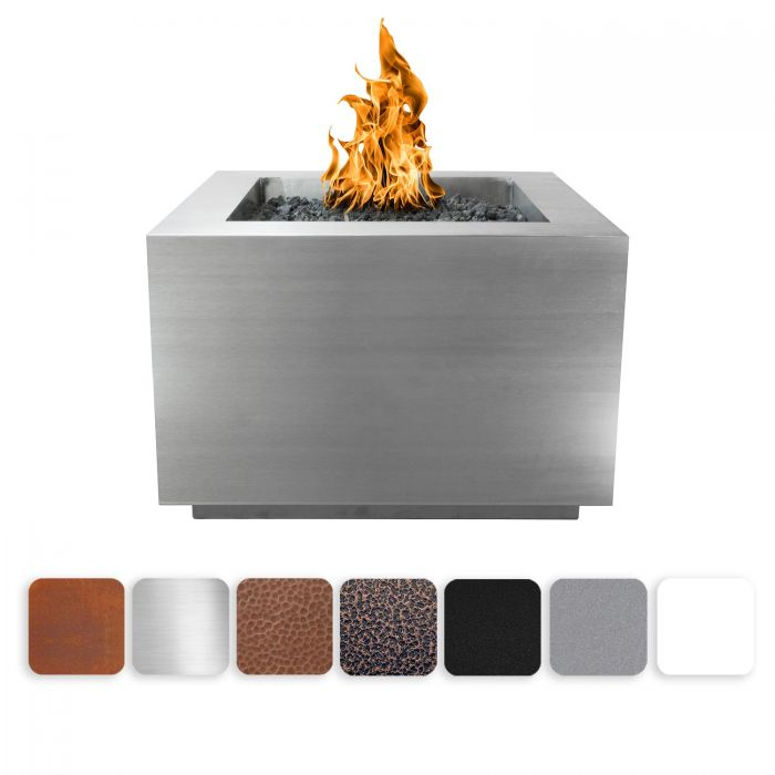 TOP Fires by The Outdoor Plus OPT-36SQxx Forma Fire Pit