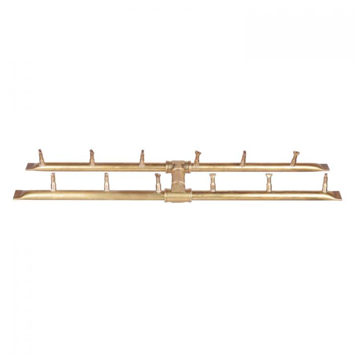 The Outdoor Plus OPT-BxxBH Rectangular H-Shaped Bullet Gas Fire Pit Burner