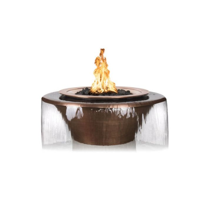 TOP Fires by The Outdoor Plus OPT-Cazo360 Cazo 360 Copper Fire and Water Bowl