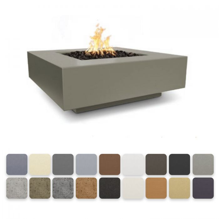 TOP Fires by The Outdoor Plus OPT-CBSQxx Cabo Square Fire Pit