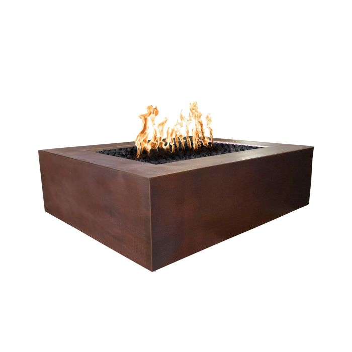 TOP Fires by The Outdoor Plus OPT-CPRSQxx Quad Copper Fire Pit