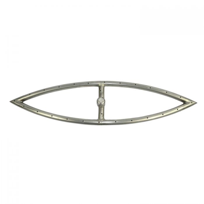 The Outdoor Plus OPT-FExx Stainless Steel Fish Eye Gas Fire Pit Burner
