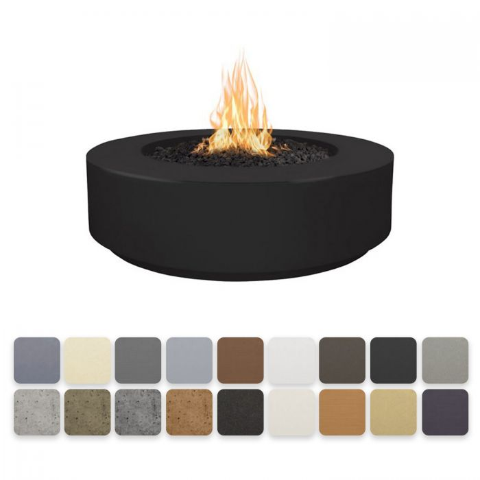 TOP Fires by The Outdoor Plus OPT-FL4x 42-Inch Florence Concrete Fire Pit