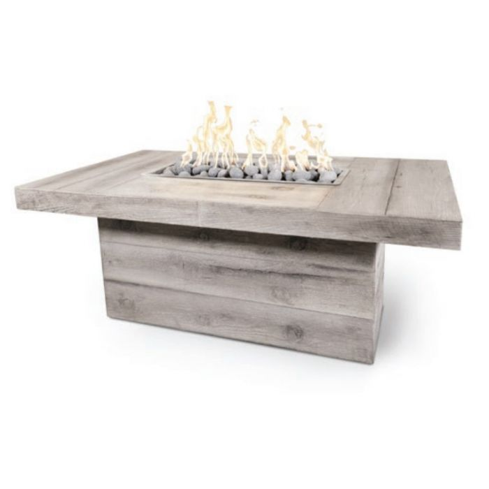 TOP Fires by The Outdoor Plus OPT-GRVWG60x Grove Wood Grain Fire Pit