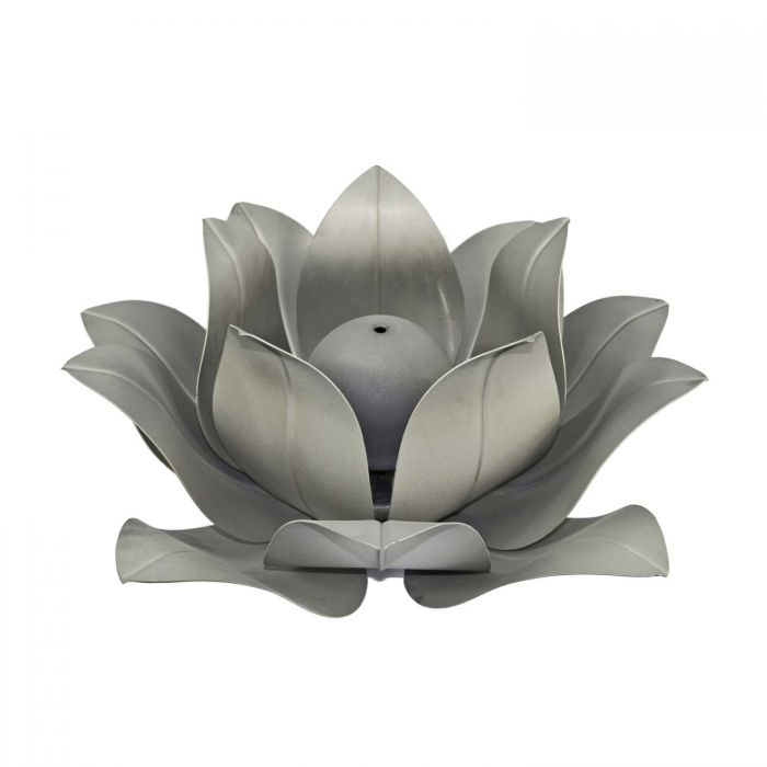 The Outdoor Plus OPT-LF Stainless Steel Lotus Flower Gas Fire Pit Burner