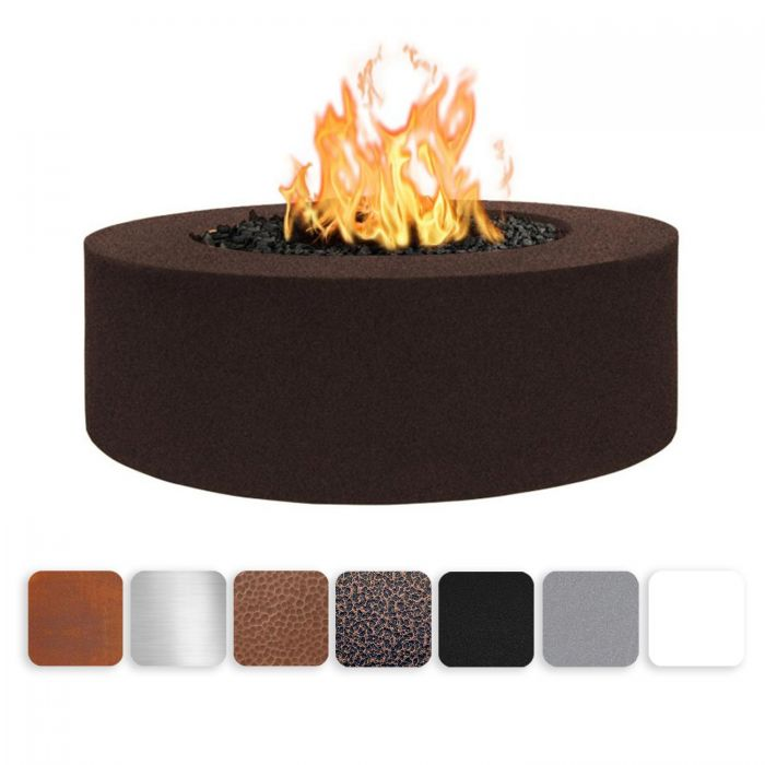 TOP Fires by The Outdoor Plus OPT-UNYxx4818 18-Inch Tall Unity Fire Pit, 48-Inches