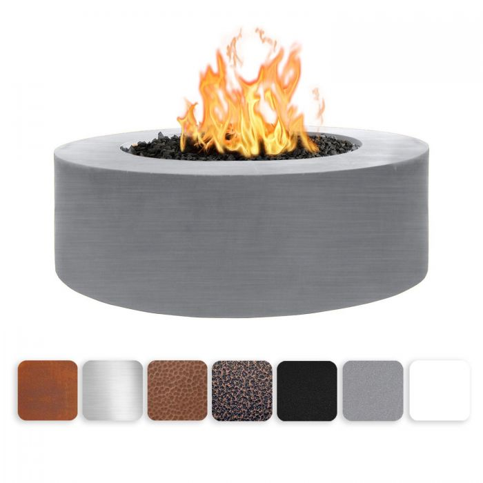 TOP Fires by The Outdoor Plus OPT-UNYxx72 24-Inch Tall Unity Fire Pit, 72-Inches