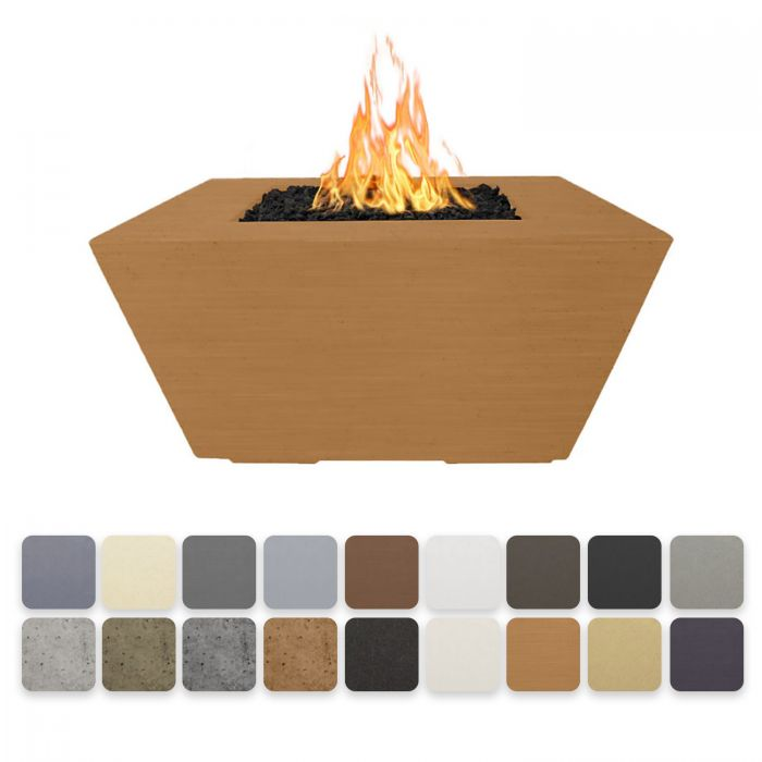 TOP Fires by The Outdoor Plus OPT-RDNxx Redan Concrete Fire Pit