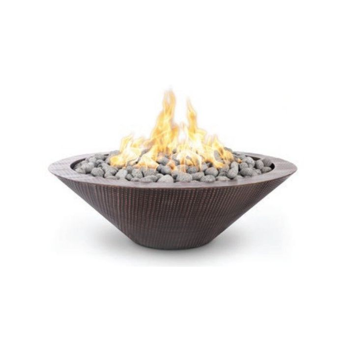 TOP Fires by The Outdoor Plus OPT-RHC48x Cazo Copper Fire Pit - No Ledge